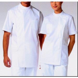 医療白衣 激安 OP-5360(OP5360)(360-30) あすつく 女性用 整体 ドクター ケーシー 半袖 S〜3L 診察衣 医療|seifukusimasenka