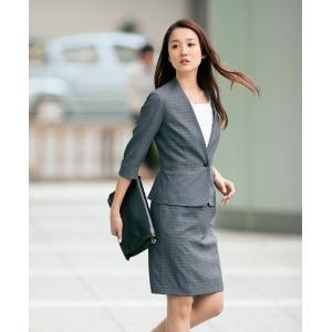 アイトス ピエ (Pieds) HCJ4510 ジャケット 5〜15号 4500シリーズ 事務服 制服|seifukusimasenka