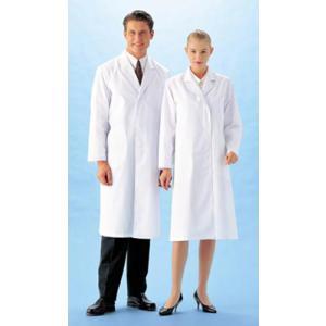 医療白衣 女性用 シングル 診察衣 実験衣 F123 LLサイズ 激安 医療 ナースウエアー双糸のシッカリした製品です|seifukusimasenka