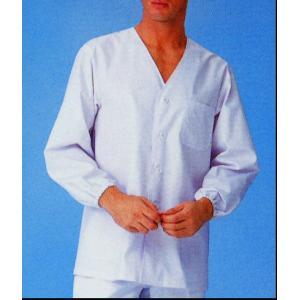 調理白衣 飲食店ユニフォーム 男性用 調理衣 長袖 S〜4L 厨房 サンペックス FA321|seifukusimasenka