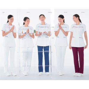 Naway ナウェイ ナガイレーベン LX-4062 女子チュニック S〜EL 医療ユニフォーム ナースウェア|seifukusimasenka