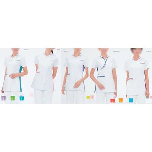 Naway ナウェイ ナガイレーベン LX-4072 女子ハイブリッドチュニック S〜EL 医療ユニフォーム ナースウェア|seifukusimasenka