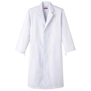 医療白衣 男性用 シングル 診察衣 MR110 あすつく 医療 抗菌・防臭加工 サンペックスイスト 常に在庫あり|seifukusimasenka