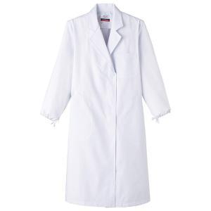 医療白衣 女性用 シングル 診察衣 5L MR120  医療 ナースウエアー|seifukusimasenka