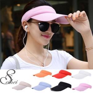 サンバイザー 帽子 UVカット オシャレデザイン 軽量 かっこいい スウェット 遠足 登山(宅急便のみ対応)