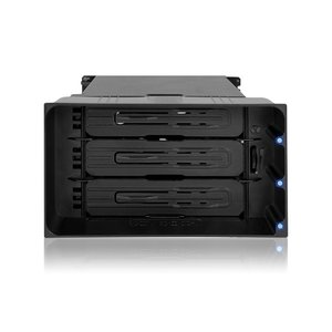 MB830SP-B flexiDOCK リムーバブルケース 2 x 5インチベイ に 3 x 3.5インチ SATA SAS 規格 HDD SSD 搭載 seijinshoji