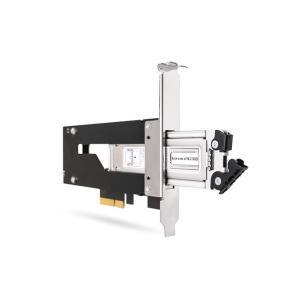 MB840M2P-B ToughArmor M.2 NVMe SSD リムーバブルケース PCIe 3.0 x4 32Gbps m.2 SSD を PCI eスロット に|seijinshoji