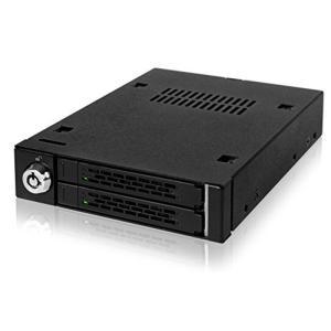 MB992SK-B リムーバブルケース 2 x 2.5インチ SAS / SATA 3 HDD / SSD 搭載用 seijinshoji