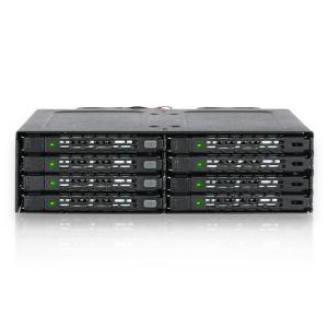 MB998IP-B ToughArmor  リムーバブルケース 1 x 5インチベイ に 8 x 2.5インチ SATA 規格 HDD SSD 搭載 seijinshoji