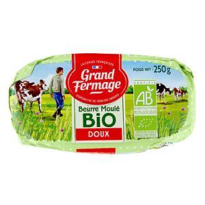 フランス グランフェルマージュ社 バイオ・グラスフェッドバター 食塩不使用 250g