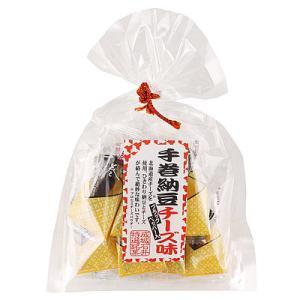 成城石井 手巻納豆チーズ味 巾着 10個