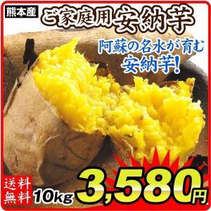 さつまいも 熊本産 ご家庭用 安納芋 10kg 送料無料 食品|seikaokoku