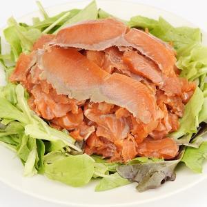 紅鮭スモークサーモン 切落 4袋|seikaokoku