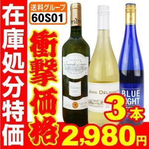 ワイン 在庫処分 徳用 Aセット 3本セット 3種1組 国華園 seikaokoku