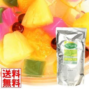 フルーツ フルーツみつ豆 1袋 (1袋1kg入り) 大袋 食品 国華園|seikaokoku
