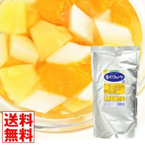 フルーツ 杏仁フルーツ 1袋 (1袋1kg入り) 大袋 食品 国華園|seikaokoku