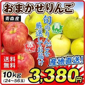 りんご リンゴ ただいま発送中  ご家庭用 青森産 おまかせ...