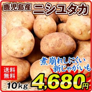 新じゃがいも 【超買得】鹿児島産 ニシユタカ 10kg1箱 ...