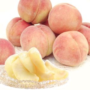 桃 もも 2kg 山形県産 艶桃 「白桃」 ご家庭用 5〜11玉 果物 食品 国華園