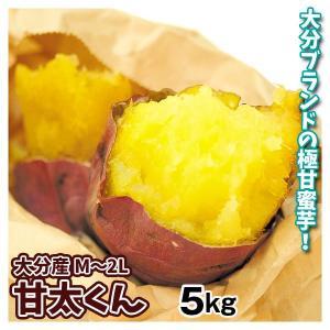 さつまいも 大分産 甘太くん 5kg 1箱 送料無料 食品 国華園|seikaokoku