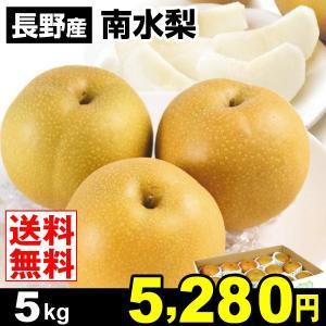 梨 長野産 南水梨 5kg 梨 なし 食品 国華園|seikaokoku