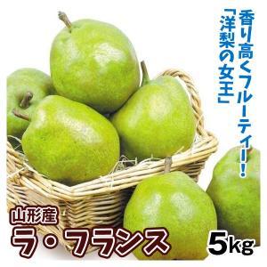 梨 山形産 ラ・フランス 5kg 正品 なし 食品 国華園|seikaokoku