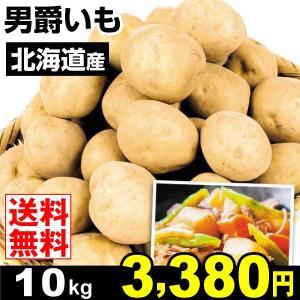 じゃがいも 北海道産 男爵いも 10kg 野菜 じゃが芋 野菜|seikaokoku
