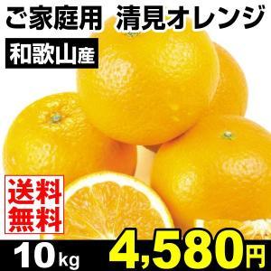 みかん 和歌山産 ご家庭用 清見オレンジ 10kg 柑橘 食品 seikaokoku