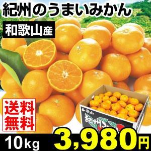 みかん 和歌山産 紀州のうまいみかん 10kg 柑橘 食品 seikaokoku