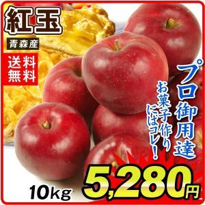 りんご 青森産 紅玉 10kg1箱 フルーツ 果物 林檎 国華園 seikaokoku