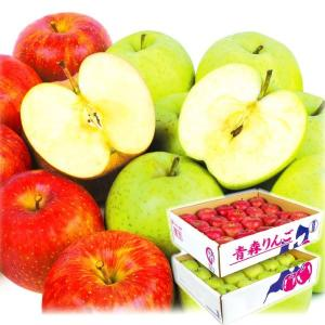 りんご 青森産 りんごセット【ふじ・王林】 10kg1箱(2種各5kg) フルーツ 果物 林檎 国華園 seikaokoku