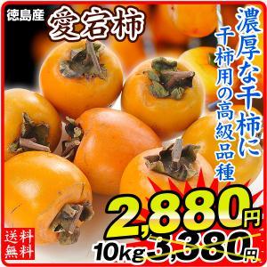 徳島産 愛宕柿干柿用渋柿 10kg 1箱 seikaokoku