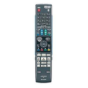 シャープ ブルーレイディスクレコーダー用リモコンRRMCGA855WJPA(0046380221)