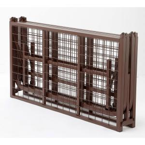《急なお客さまのお泊りにも便利。小さく収納できる》ファミリー・ライフ 4分割折りたたみスチールパイプベッドフレームシングルサイズ(0362610)ブラック|seikatsu-oasis|02