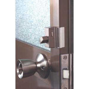 ドア補助錠 サッシドア用あきすばん
