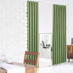 突っ張りカーテンポール(幅150−273cm 高さ170−263cm)|パーテーション 間仕切り つっぱり棒 室内物干し ハンガー 仕切りカーテン 部屋干し 室内干しの写真