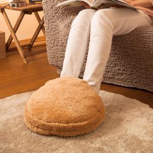 フットウォーマー ベーシック ( コードレスタイプ ) | 足温器 充電式 暖房器具 足元 あったかグッズ 足 かわいい ゆたんぽ エコ湯たんぽ 充電 電気湯たんぽ
