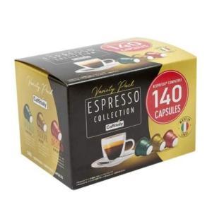 コストコ コーヒー ネスプレッソ 互換 カプセル 140個入 エスプレッソコレクション コーヒーカプセル カフィタリー seikatsuryouhin
