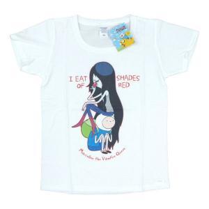 [アドベンチャータイム] Tシャツ マーセリン(白)【レディース M】|seikatudo