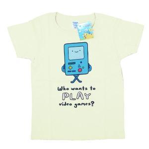[アドベンチャータイム] Tシャツ/ビーモ(ナチュラル)【レディースM】|seikatudo