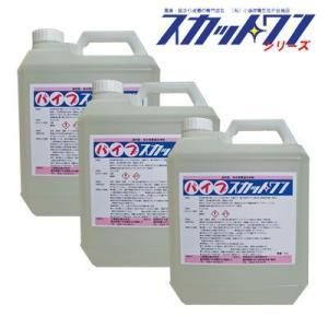 排水管洗浄剤 パイプスカットワン(4L×3本)|seiketu-online
