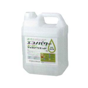 尿石除去剤 エコノパワースーパーマイルドリキッド(4L×1本)|seiketu-online