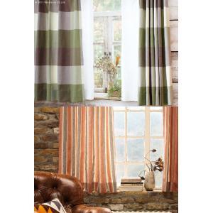 ヴィンテージデザインカーテン 幅200cm 丈135〜240cm ドレープカーテン 丸洗い 日本製 10柄 12901131|seikinn|03