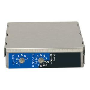 ユニペックス 800MHz帯 ダイバシティワイヤレスチューナーユニット DU-850A|seiko-techno-pa
