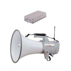 拡声器 TOA 大型メガホン チューナーユニットセット 30W ER-2830W WTU-1720|seiko-techno-pa