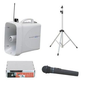 拡声器 30W PLL300MHz帯 選挙用スピーチセット(雨天対応) TWB-300 ST-110 WM-3400 SDU-300|seiko-techno-pa