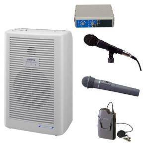 拡声器 20W PLL800MHz帯 選挙用スピーチセット WA-862A DU-850A MD-58 WM-8400 WM-8100A|seiko-techno-pa