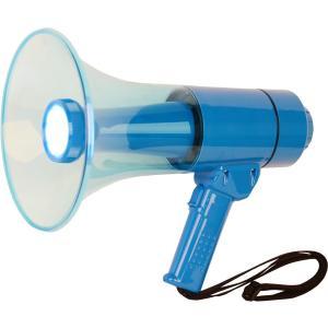 【アウトレット】拡声器 25W 高輝度LEDライト付き 防滴中型メガホン STM-25L サイレン音も|seiko-techno-pa