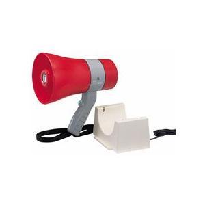 拡声器 防滴小型メガホン ユニペックス 6W 充電式 TR-215CS|seiko-techno-pa