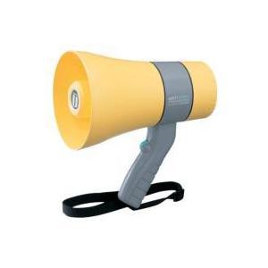 拡声器 防滴小型メガホン ユニペックス 6W  TR-215WA|seiko-techno-pa